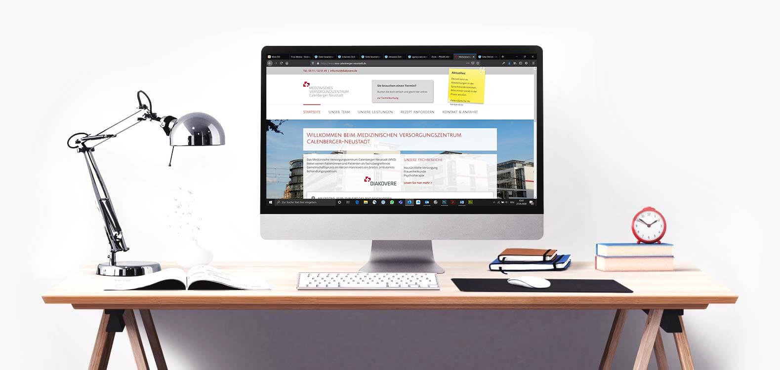 Homepage Erstellung - WordPress